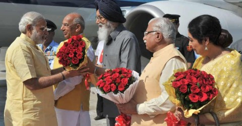 Chandigarh Dead Locked For PM Visit