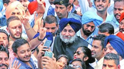 Announcements made by the Sukhbir Badal in PU