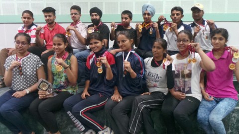 NCC Cadet Shirin won Gold Medal in Shooting