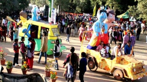 Carnival Began at Chandigarh