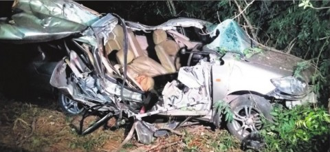 A Road Mishap Took 3 Lives And Left 2 Injured