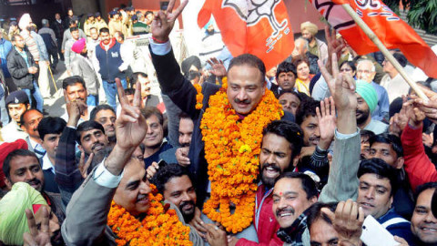 New Mayor Of Chandigarh Is From BJP