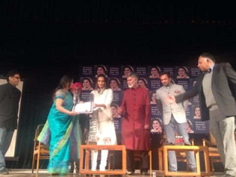 Neerja Bhanot Bravery Award Ceremony Held With Sonam Kapoor In  Presence