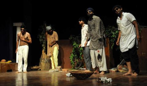 A Punjabi Play  Anney Kaaney Organised At Randhawa Auditorium