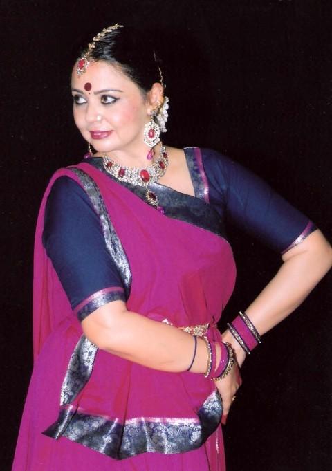 At Tagore Theatre  Sangeet Sammelan Opened  With  Kathak Recital