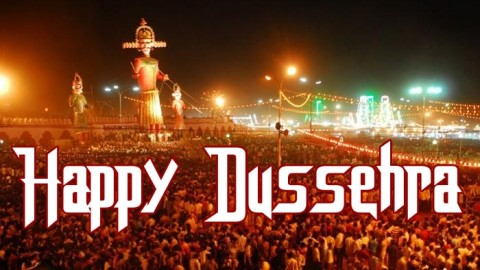 Today Indians Celebrating The Dussehra Festival