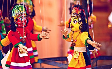 International Puppet Fest At Tagore Theatre Chandigarh