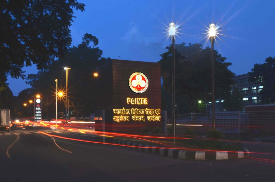 PGI Chandigarh Happily Received Kayakalp Award As Cleanest Hospital Of India