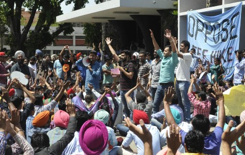 How Chandigarh Cops Neglected To Pre-Empt Viciousness At Panjab University