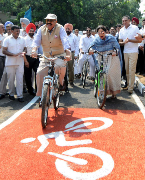 Badnore, Kher Introduced Smart Projects In Chandigarh City