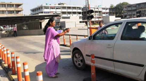 In Chandigarh Women Parking Attendants Had Lost Their Job
