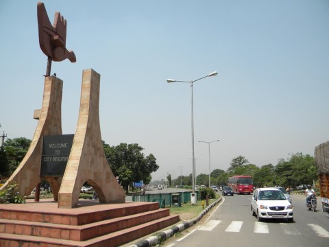 Chandigarh become the only ideal city in the world