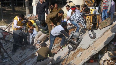 Building collapsed in Chandigarh 6 were killed