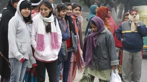 Chandigarh is colder than Jammu and Dharamshala