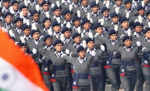 A Girl From PGGC Sector-42 Selected For Republic Day Parade