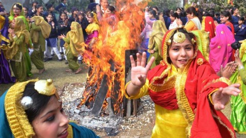 Lohri Celebrations In Chandigarh