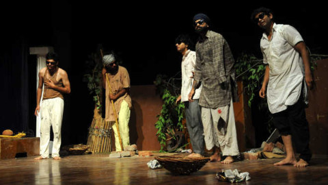 A Punjabi Play  Anney Kaaney Organised At Randhawa Auditorium
