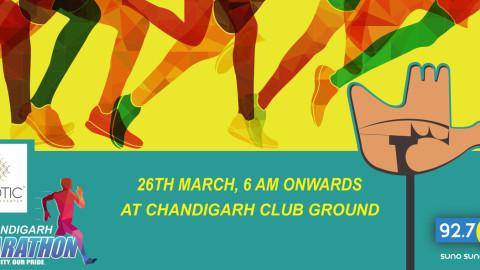 Big Chandigarh Marathon On 26th March 2017: Tricity Events