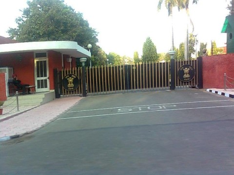 Capt Amarinder Oath-Taking At Raj Bhawan, Chandigarh