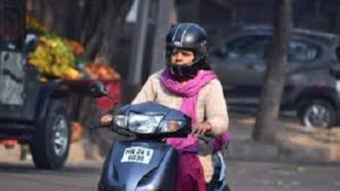 Women Rushed Stores In Order To Get Helmets